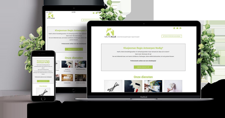 webdesign aannemer